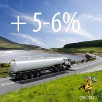 В Беларуси подорожало топливо на 5-6%