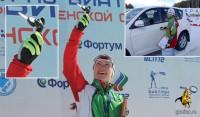 Даша Домрачева выиграла кубок России на призы губернатора Тюменской области