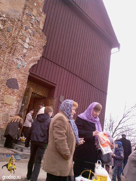 Великая (страстная) суббота в Каложской церкви