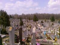 Гродненское городское кладбище напротив кургана славы. 24.04.2012