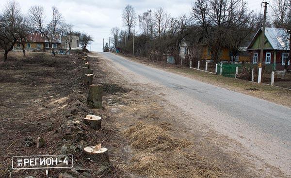 Деревня Залучаны, Волковысский район. 2012г.