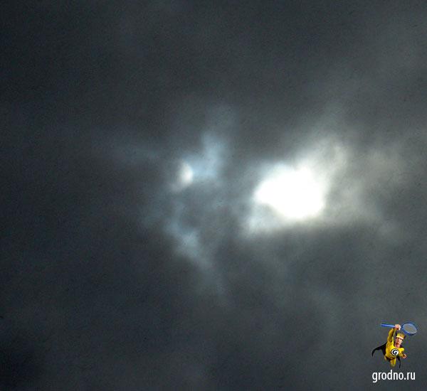 Прохождение Венеры по диску Солнца в Гродно 06.06.2012 года